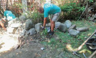 Burina pod kameňmi