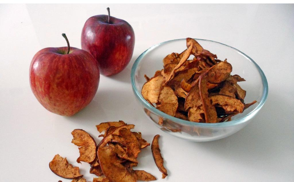 Sladké jablkové lupienky