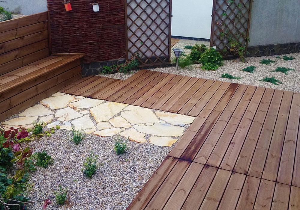 Terasa do záhrady krok za krokom