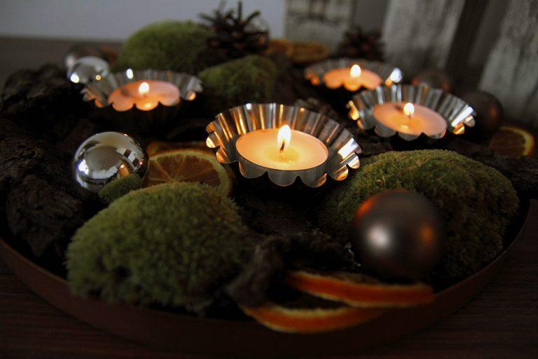 Advent v prírodných farbách  Vyrobte si netradičný adventný svietnik ... 4f233894e88
