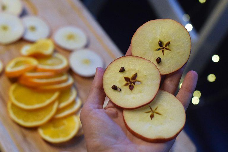 Jablkové hviezdy