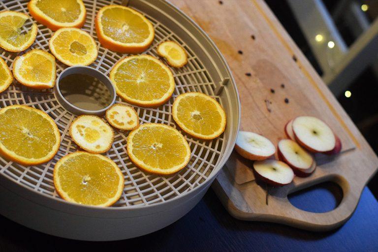 Sušenie pomarančov