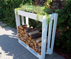 Pracovný postup: Vyrábame stojan na palivové drevo