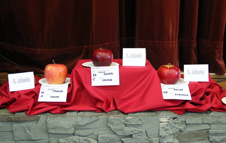 Výstava jabĺk