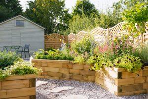 Záhrada na mieru so stavebnicou WoodBlocX
