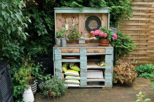 Vyrobte si originálny nábytok z paliet