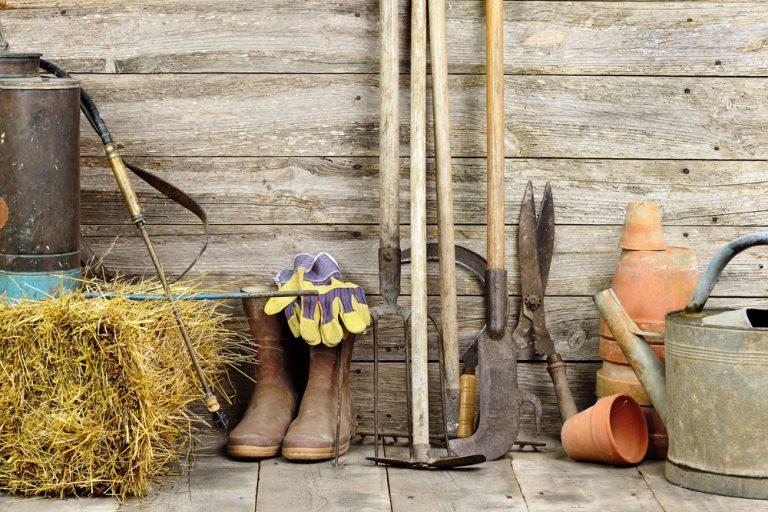 Fotopostup: Záhradný domček na náradie krok za krokom