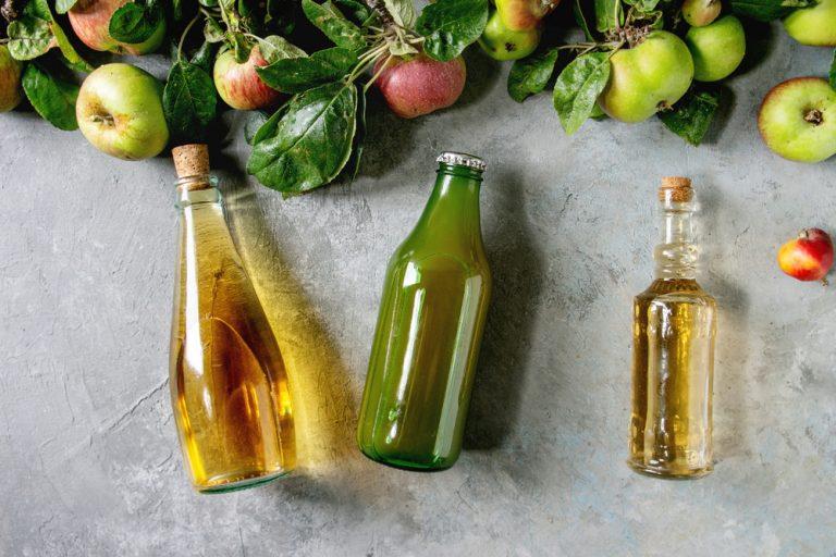 Jablčný ocot, džús a mušt