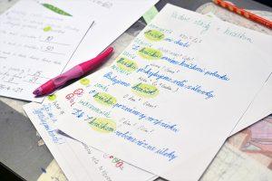 Pracovný list zo slovenčiny