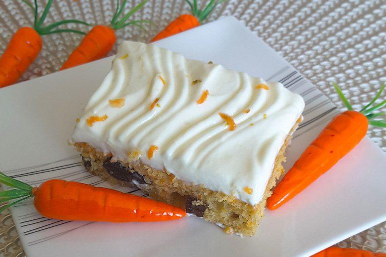 Upečený mrkvový koláč