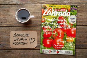 časopis Záhrada