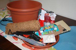 Materiál na prípravu odkladacieho stolíka