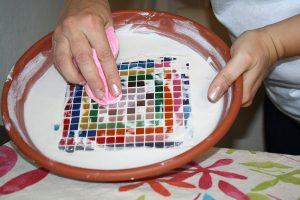 Čistenie mozaiky