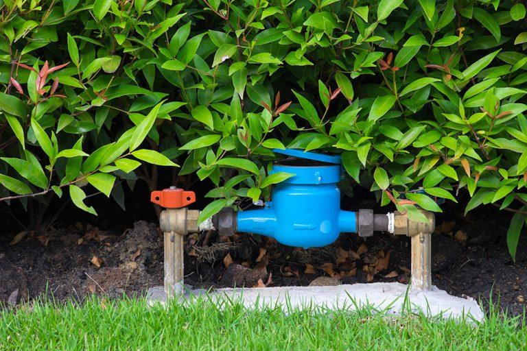 Závlaha v záhrade