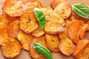 Batatové čipsy