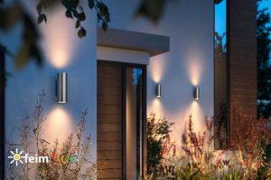 Vonkajšie svietidlá na dome