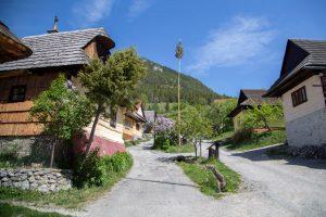 Máj v slovenskej dedine, Vlkolínec