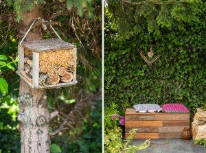 Príbytok pre hmyz a oddychová zóna